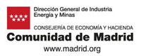 ogo Direccion General de Industria, Energia y Minas de la Comunidad de Madrid